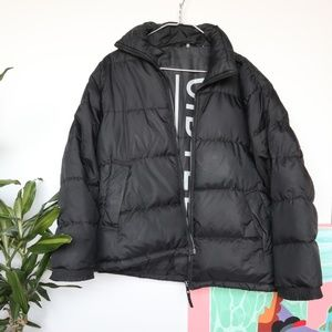 Other - Vintage Cibyll Sports Black Down Puffer Zip Jacket